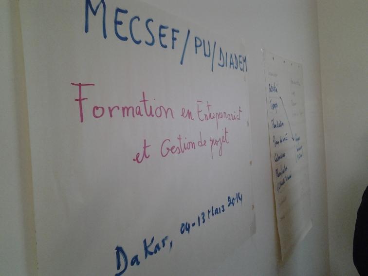 Formation en Entreprenariat et gestion de projet